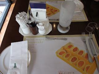 ベーカリーレストランサンマルク 高槻店のテーブル