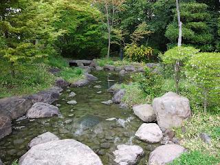 藤田邸跡公園の池