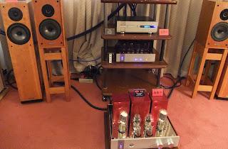 大阪ハイエンドオーディオショウ 2009 Tri TRV-845SE ビジュアルグランプリ2009 真空管アンプ