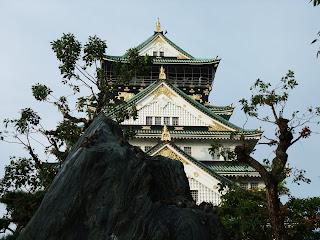 大阪城の雀