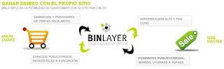 Ganar dinero con tu blog y web con Binlayer