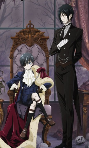Our two heroes. Ciel Phantomhive and Sebastian Michealis