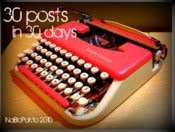 30 Blogs in 30 Days!