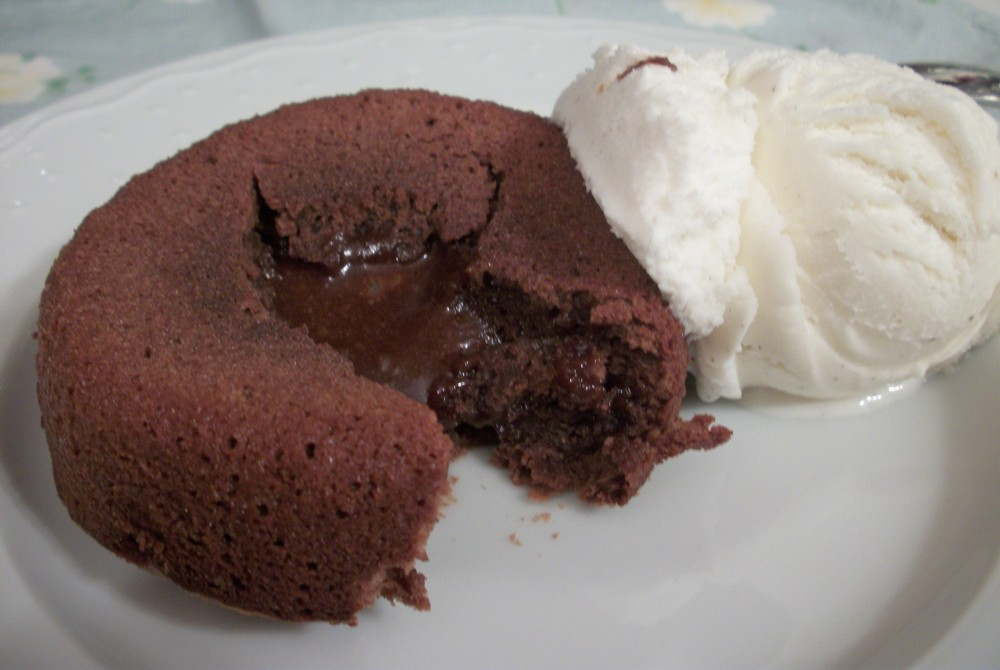 molten chocolate cakes 4 oz semisweet chocolates can use chocolate