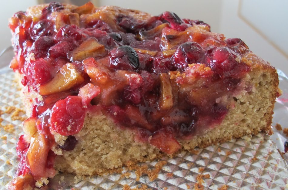 Cook with Sara: Cranberry Apple Coffee Cake