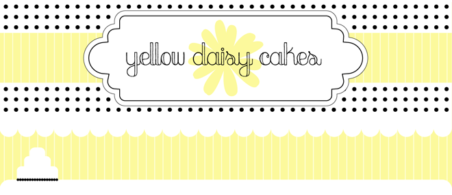 Yellow Daisy Cakes