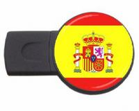Spain country symbol usb flash drive