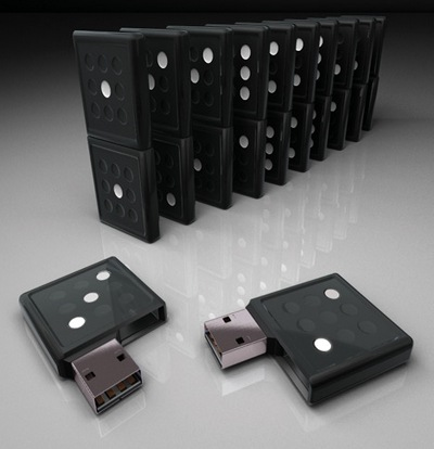 Domino USB Flash Stick pen drive