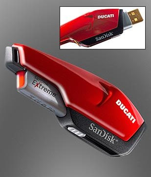 Motorcycle Ducati  USB flash drive