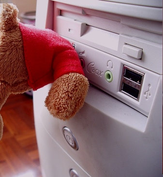 Teddy Bear USB flash drive