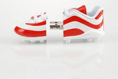 Sport shoe USB drive