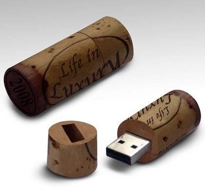 Wine Cork USB flash drive Wine memory stick