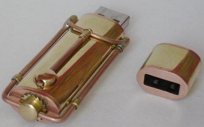 Steampunk USB gadget