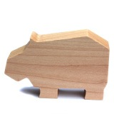 Wooden animals USB memory stick