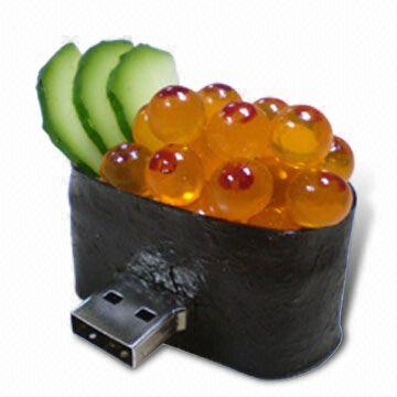 Sushi with caviar USB flash drive