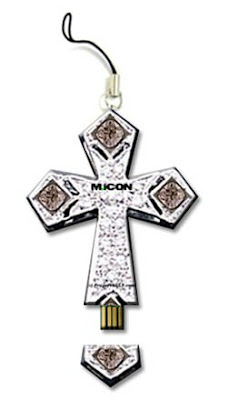 Christian Cross USB Flash Drive