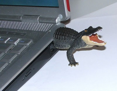 Crocodile USB memory stick