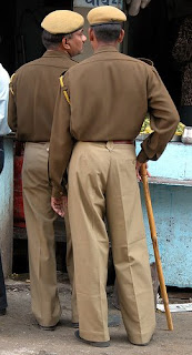 Indian Police Standing