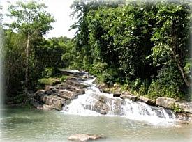 Lan Rak or Tat Hin Kong Waterfall