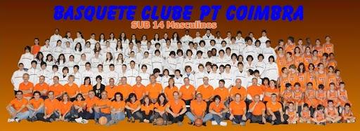 SUB 14 Masc  Basquete Clube PT Coimbra