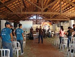 Pastoral junto com Lar São Francisco e Pastoral Carcerária