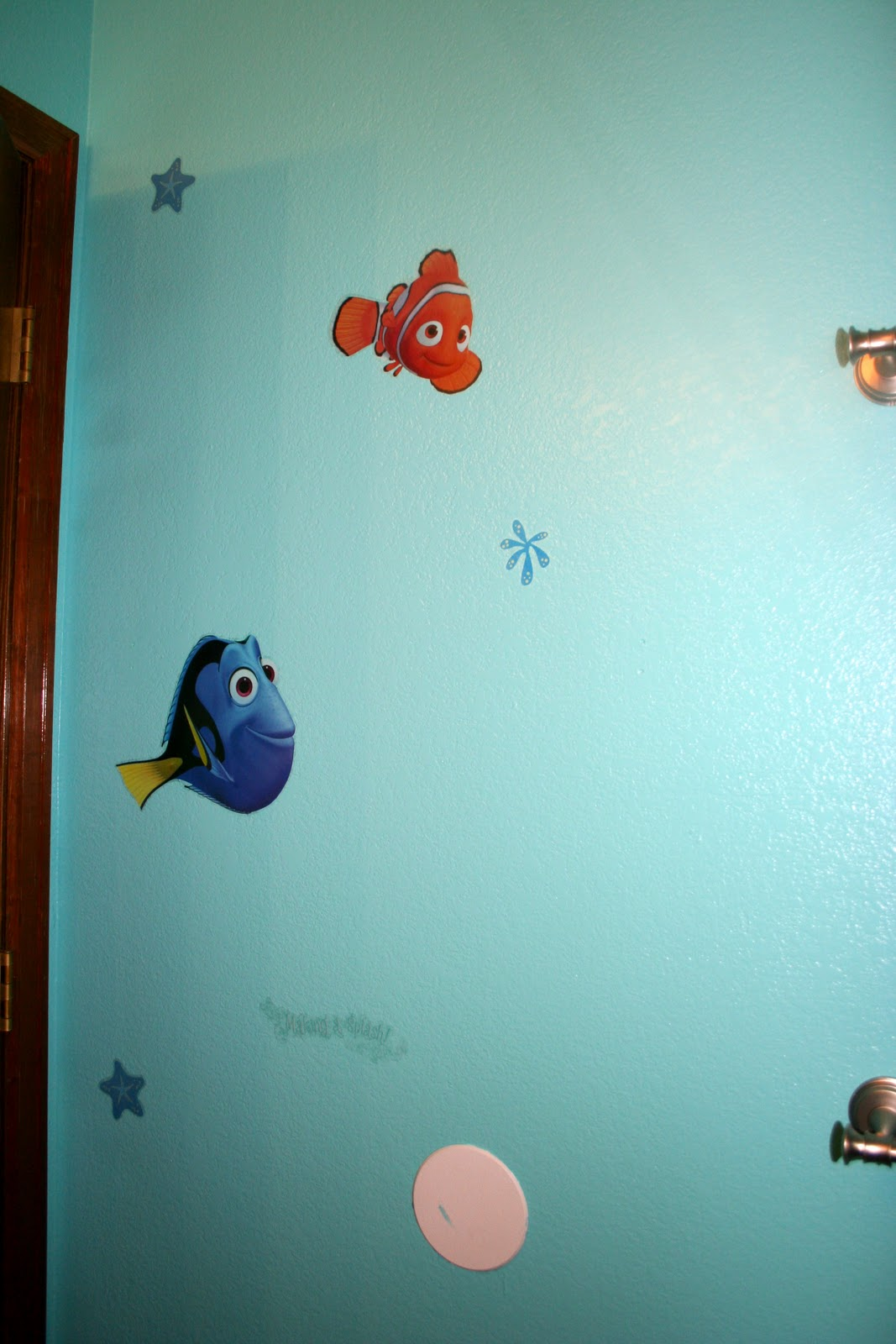 staying crafty: the finding nemo bathroom