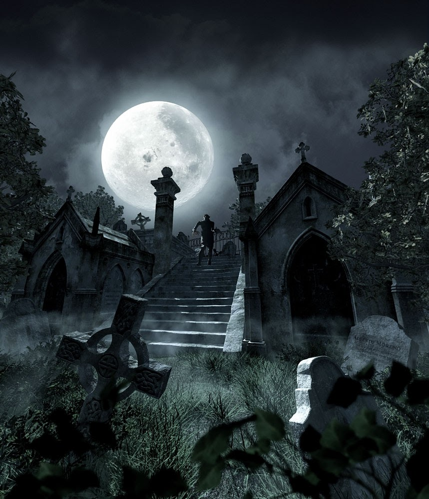 WHAT MAKES THE GRAVEYARD A SPOOKY AND SCARY PLACE?