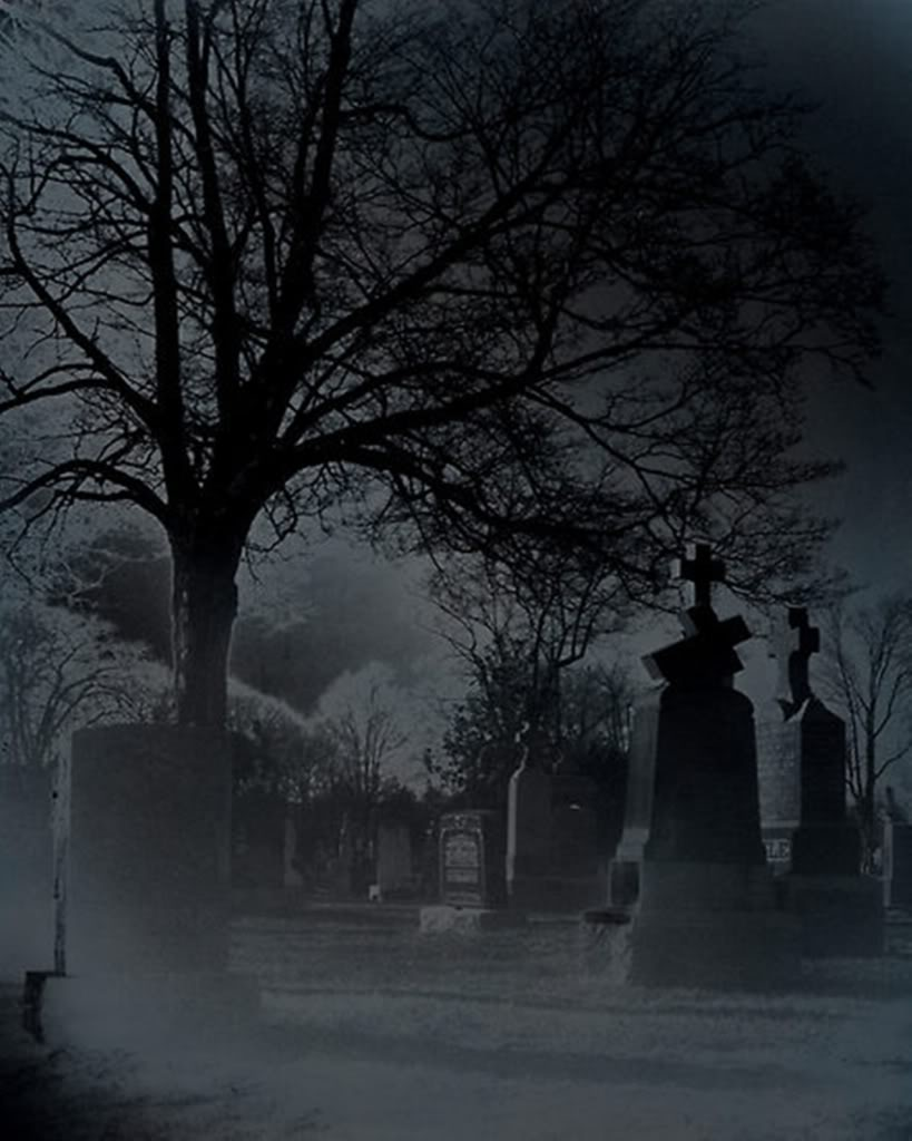 Spooky Cemetery Relate...