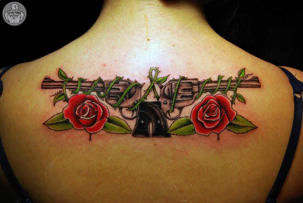 roses tattoo. Tattoo Power: guns n roses