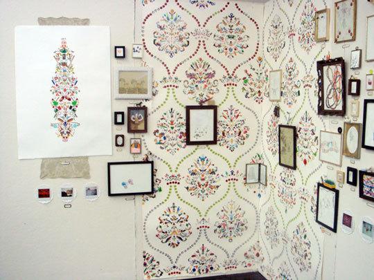 sticker wallpaper. sticker collection