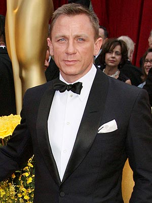 Famous British actor Daniel Craig is the current James Bond in the James ...