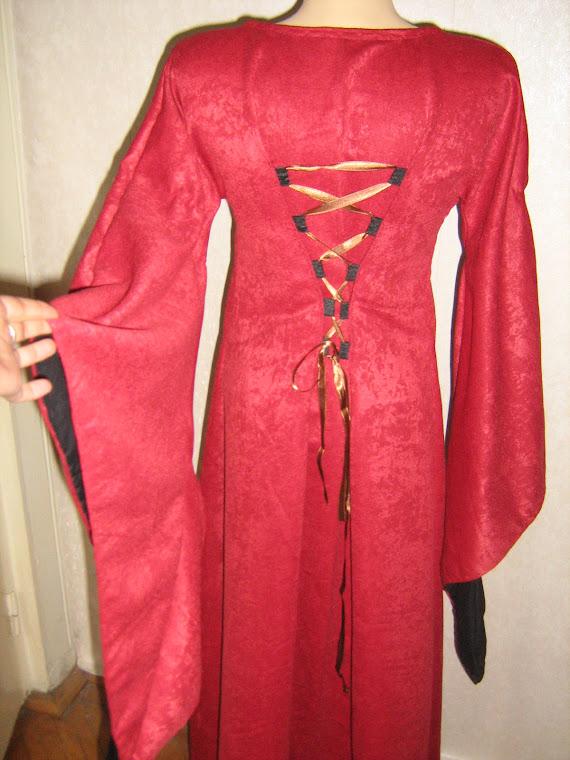 Rochie medievala catifea 300 lei