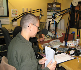 In the WGDR studio