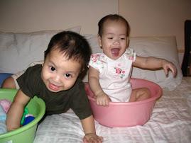 """Babies in Buckets"""