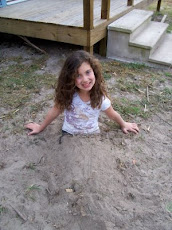 Megan in the sand