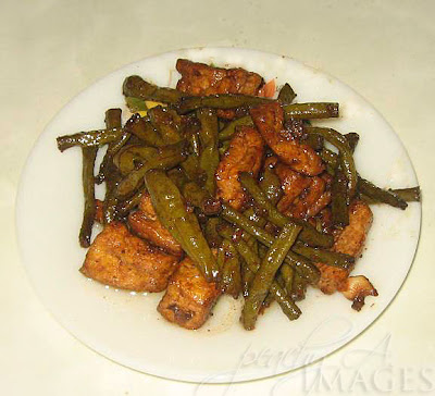 String Beans Adobo with Tofu (Adobong Sitaw)