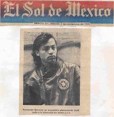 """Gracias al """"SOL DE MEXICO"""" y a toda la prensa"""
