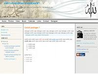 Template Islami Blog