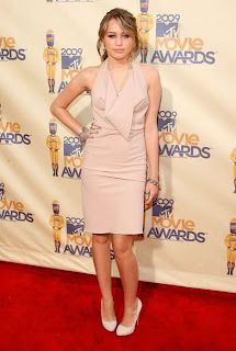 Miley Cyrus Nude Fashion