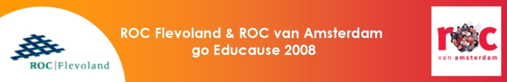 ROCvA en ROC Flevoland go Educause