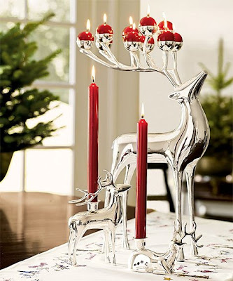 Christmas-accessories - Cristal-Candlelight-holder