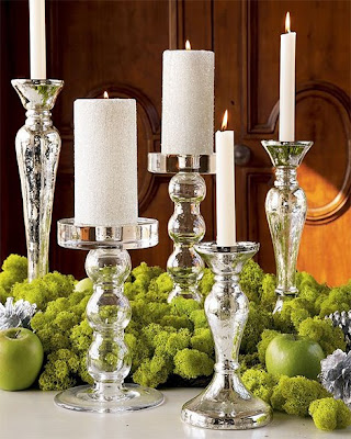 special-gift-Christmas-accessories - Cristal-Candlelight-holder