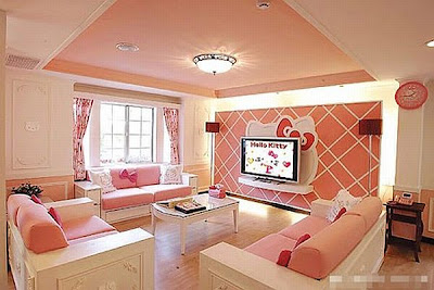 Hello-Kitty-House-interior-design