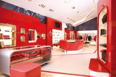 Ferrari-Factory-Store-gallery-interior-design
