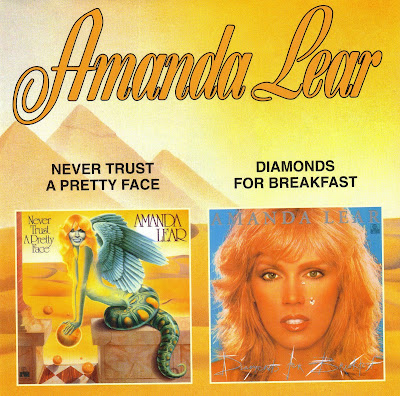 Amanda Lear - Never Trust A Pretty Face (1978) Diamonds For Breakfast (1979) disco classic albums [2 albums on 1 CD special limited edition] 320 kbps