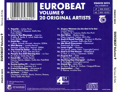 Various - That's Eurobeat For D.J.'s