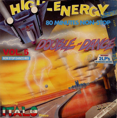 High Energy Double Dance - Volume.5 (2LP Set) c 1986 80 Minutes Non-Stop mix