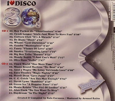I Love Disco 80's - Vol.5 - Various Artists (2CD Set)