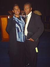 Nosso Pastor Edimilson Nunes e sua esposa Irmã Célia