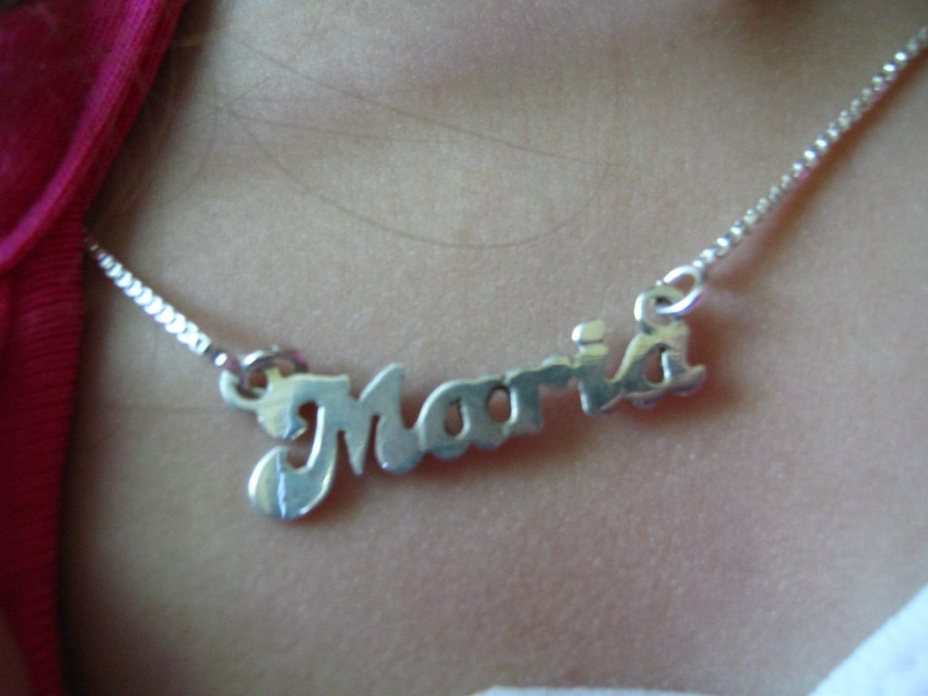 Marias space may 2010 with graduation coming next month this is a great gift idea wow imports has so many different styles of fonts and name necklaces to choose from aloadofball Choice Image